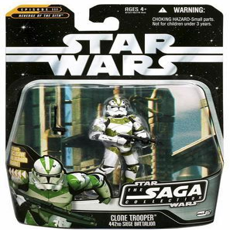 Clone Trooper Action Figure 442nd Seige Battallion Star Wars