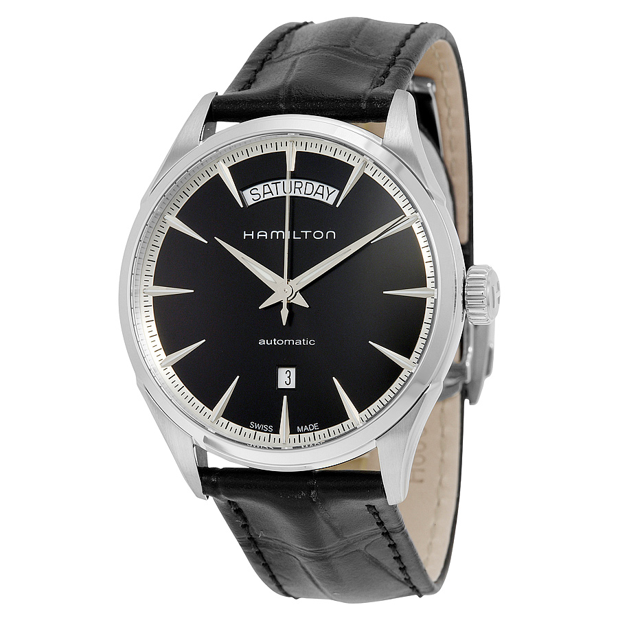 Hamilton Jazzmaster Automatic Black Dial Mens Watch H42565731 by Hamilton
