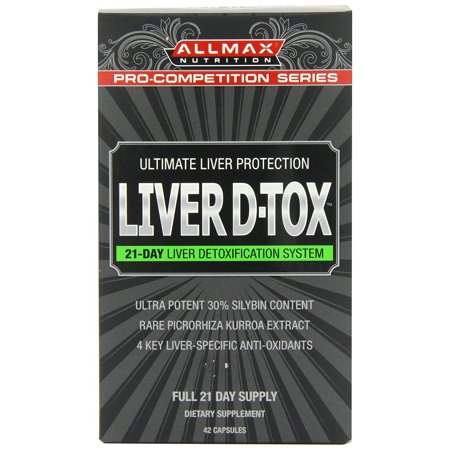 ALLMAX Nutrition Liver D-Tox 42 (Nutrition Liver)