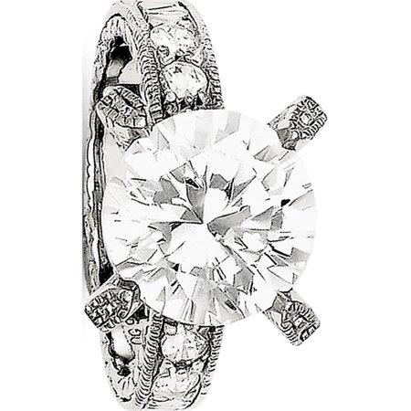 Sterling Silver CZ Ring - image 2 de 2