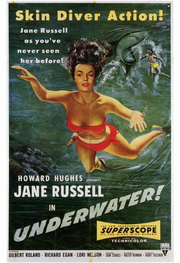 Underwater POSTER Movie (27x40) by