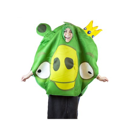 Angry Birds King Pig Adult Halloween Costume](Pug Halloween Costumes For Adults)