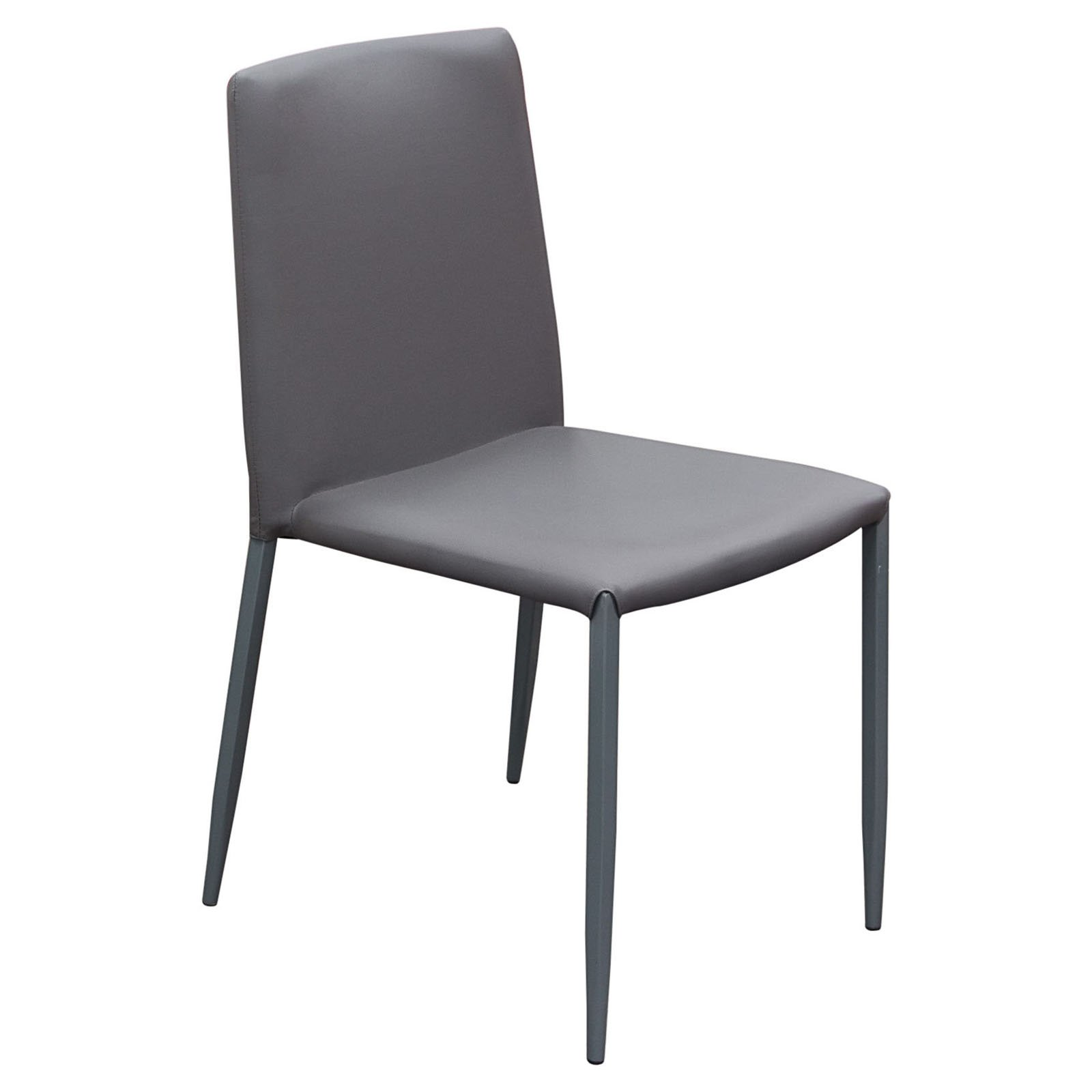 Diamond Sofa Stackable Dining Chairs - Set of 2 - Grey