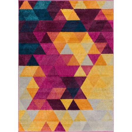 Well Woven Multi Color 5x7 5 3 Quot X 7 3 Quot Area Rug