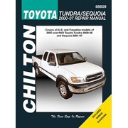 Chilton Toyota Tundra/Sequoia 2000-2007 Repair Manual