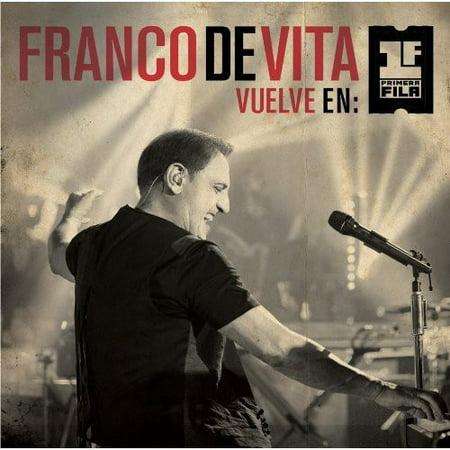 Franco De Vita Vuelve En Primera Fila (CD) (Includes (Musica De Franco De Vita Te Amo)