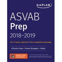 ASVAB Prep 2018-2019 : 4 Practice Tests + Proven Strategies + Online