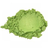 SOAPBERRY GREEN MICA COLORANT PIGMENT POWDER FOR SOAP MAKING 1 OZ