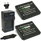 Wasabi Power Battery (2_Pack) and Charger for Fujifilm NP...