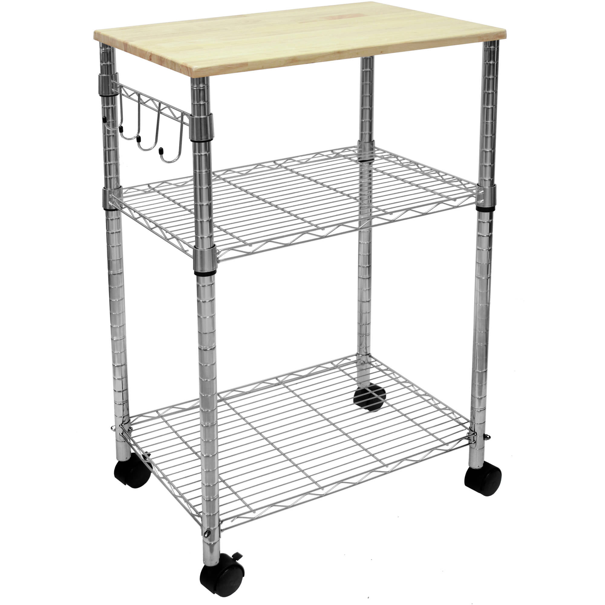 Great Mainstays Multi Purpose Kitchen Cart, Multiple Colors   Walmart.com