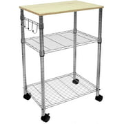 Small Kitchen Cart With Baskets Modern Island De