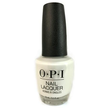 OPI Nail Lacquer, Alpine Snow, 0.5 Fl Oz 0.5 Ounce Opi Nail