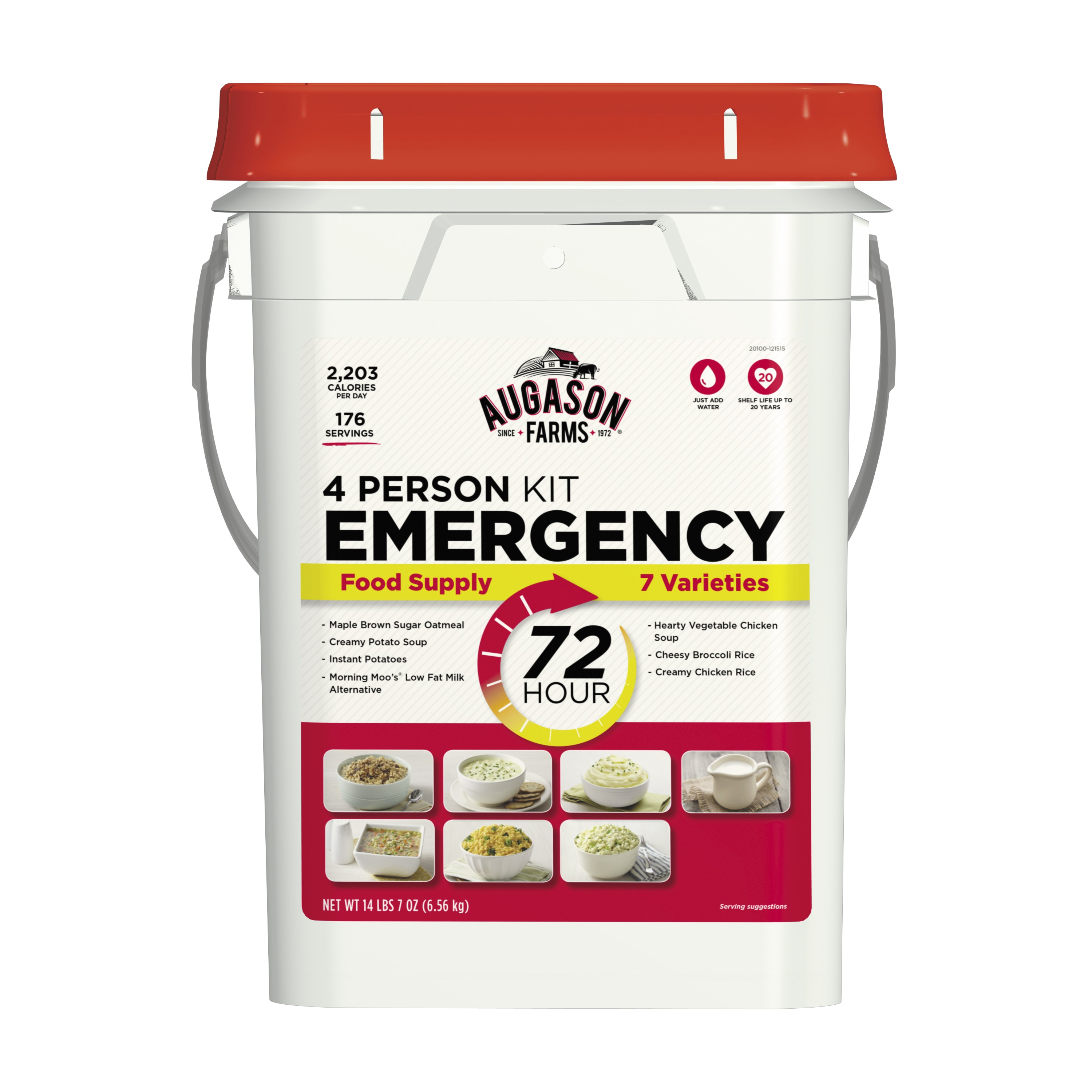 Augason Farms 72-Hour 4-Person Emergency Food Storage Kit
