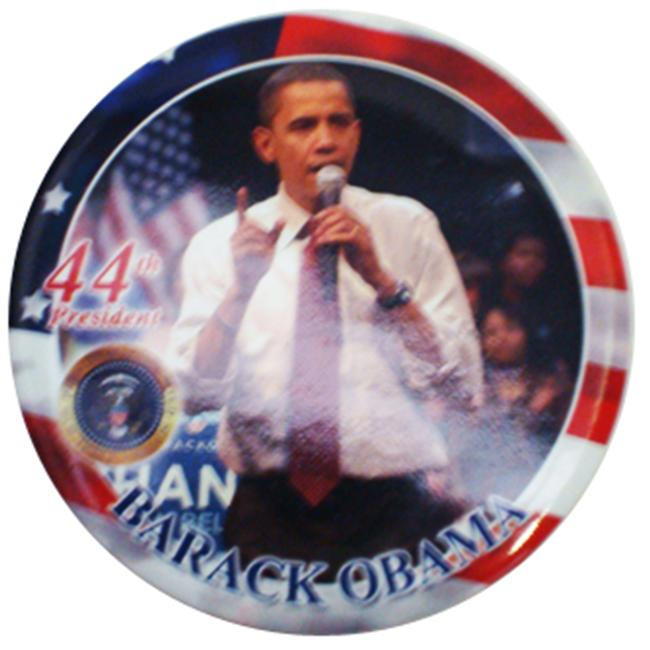 Encore Select ENC-obamabutton Barack Obama Commemorative Button Assorted