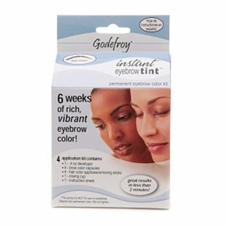 Godefroy R58 28 Day Permanent Eyebrow Color Kit - Dark Brown ...