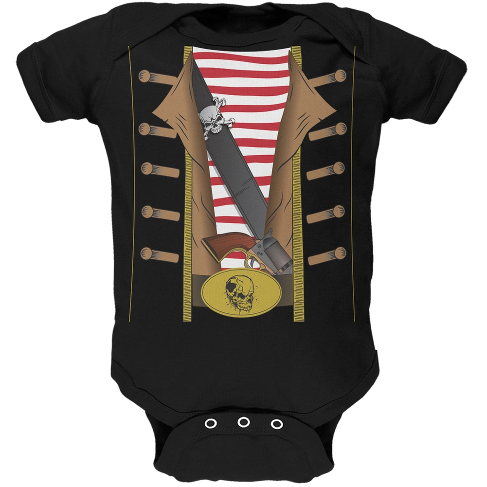 Pirate Costume Baby One Piece by Old Glory