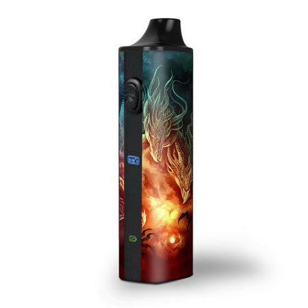 Skins Decals for Pulsar APX Herb Vape / Dragons Fireball (Dragon Apx Lenses)