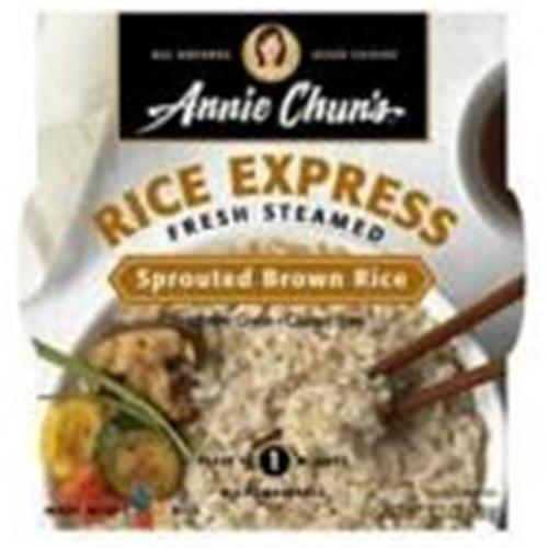Annie Chuns 21421 Annie Chuns Rice Express Sprouted Brown Rice - 6x6. 3 Oz