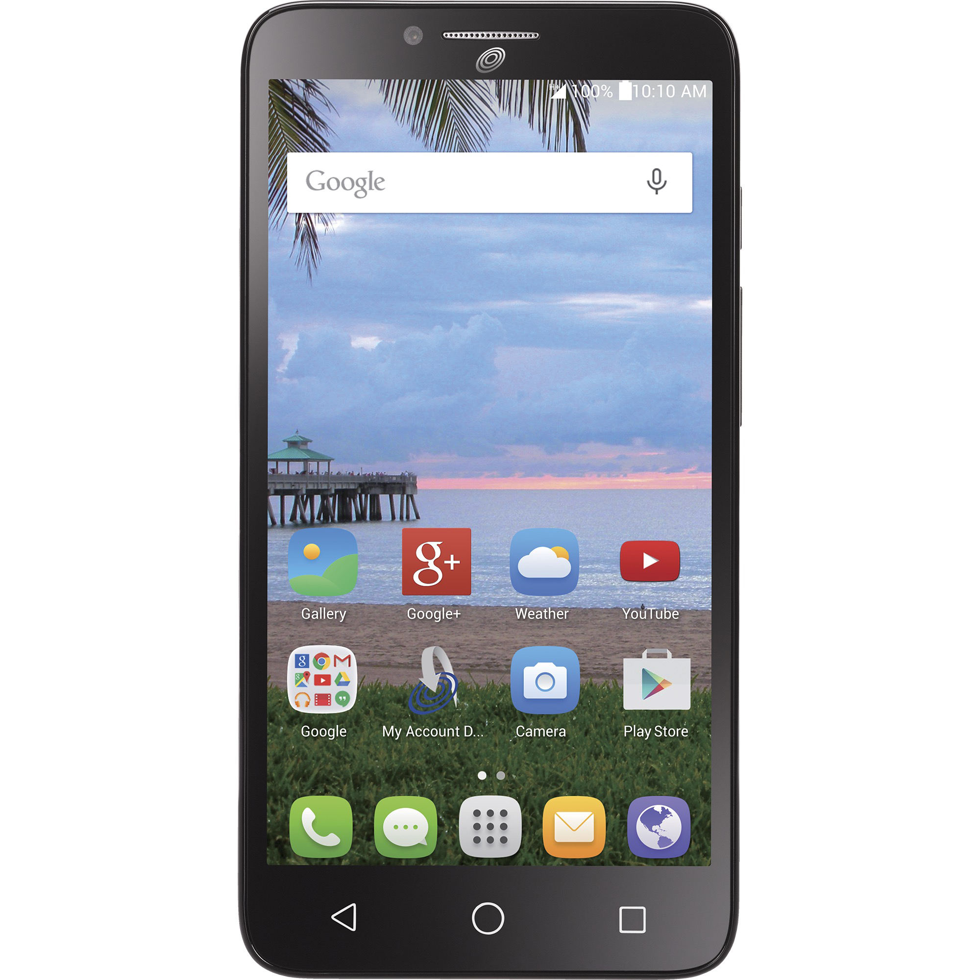 TracFone Alcatel Pixi Glory 8GB Refurbished Smartphone, Black