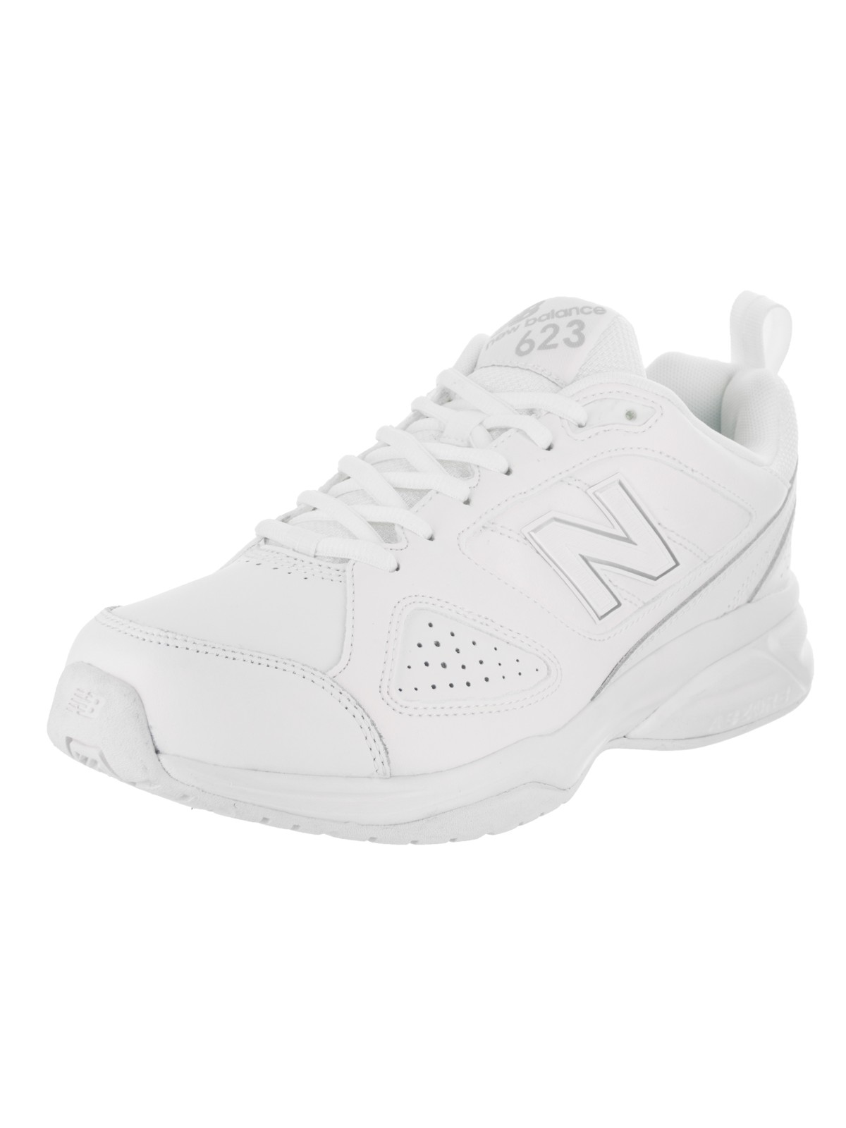New Balance MX623 Men 4E Round Toe Leather White Cross Training by New Balance