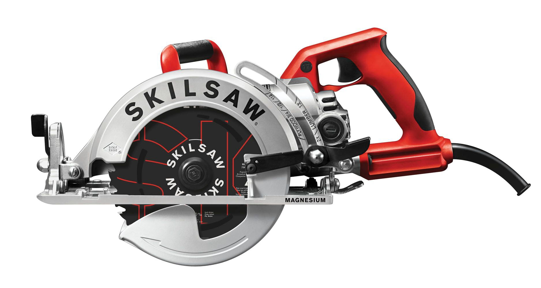 "7-1 4"" Mag Light Worm Drive Circular Saw-SKILSAW blade by Chervon"