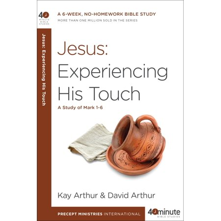 Jesus: Experiencing His Touch : A Study of Mark - Jesus Mask