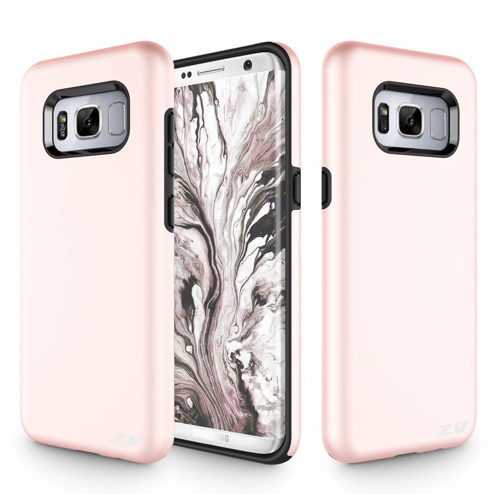 Samsung Galaxy S8 / S8 Plus Case, Zizo SLEEK HYBRID Heavy Duty Case - Protective