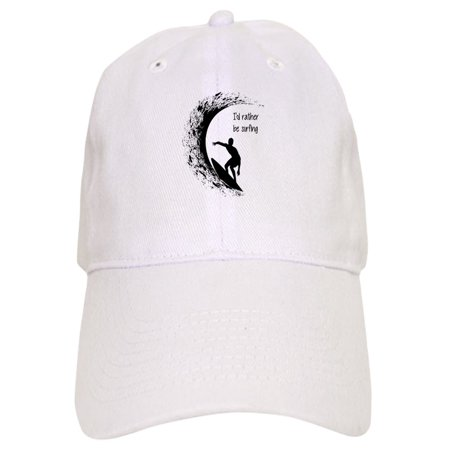 CafePress - I'd Rather Be Surfing Baseball - Printed Adjustable Baseball Cap (Surfing Baseball Caps)