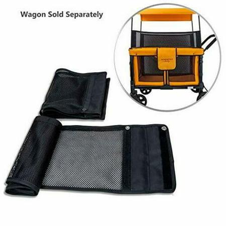 WonderFold Wagon Safety Shade Net Accessory For Model W4 Quad Stroller Wagon