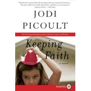 Keeping Faith (Paperback)(Large Print)