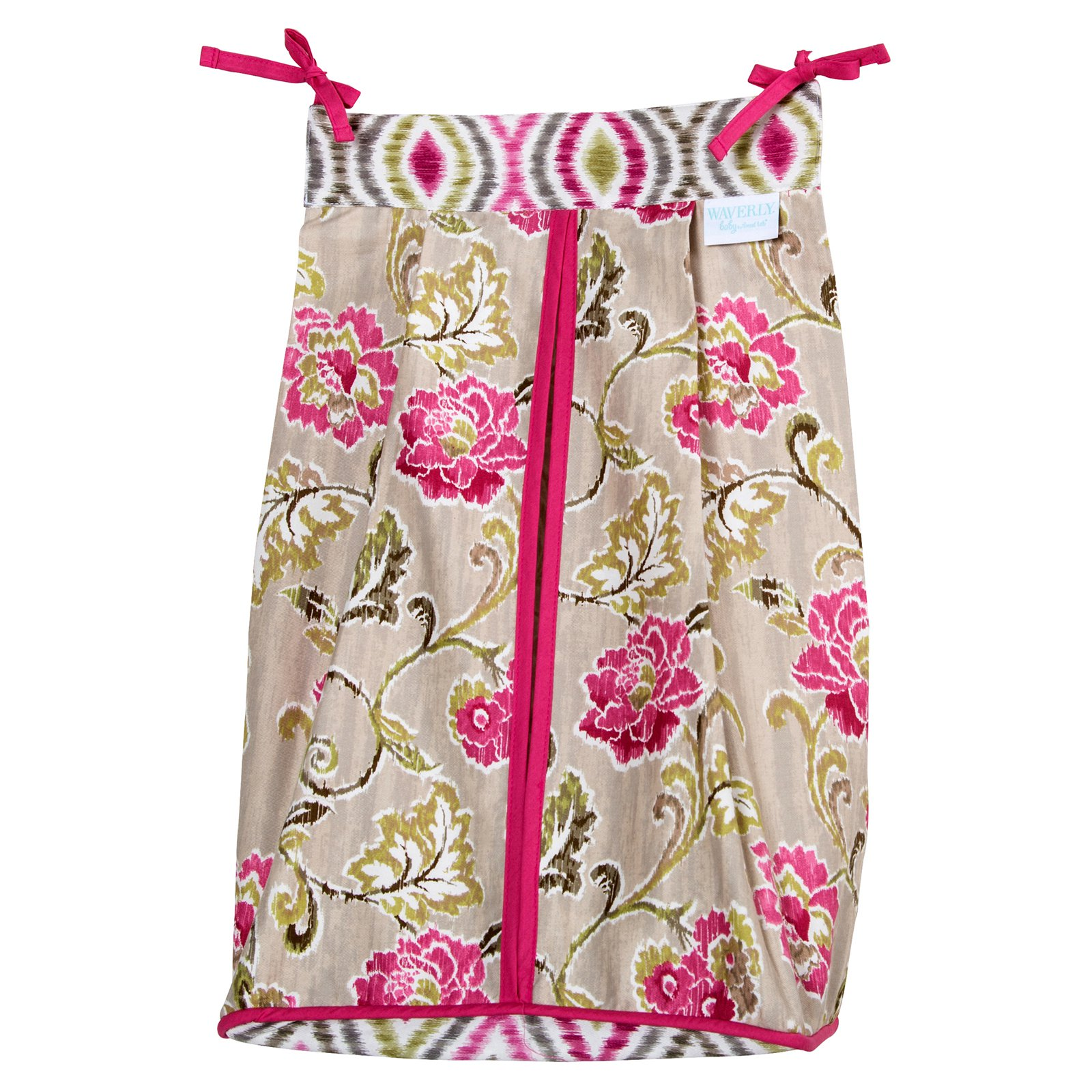 Trend Lab Waverly Jazzberry Diaper Stacker by Trend Lab