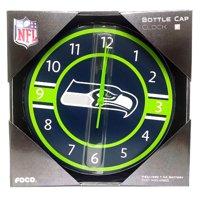 NFL Seattle Seahawks Bottle cap Wall Clock Team Logo