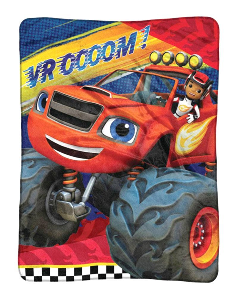 Nickelodeon Blaze and the Monster Machines Plush Throw by Northwest