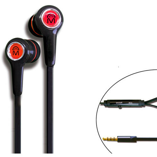 Mental Beats Xtatic Earbuds with Microphone