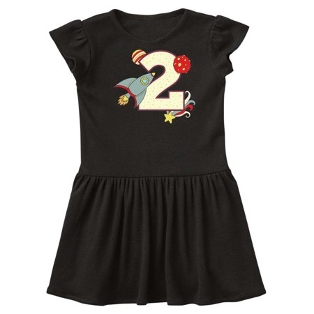 2nd Birthday Outer space Theme Toddler Dress (Dress Up Space Theme)