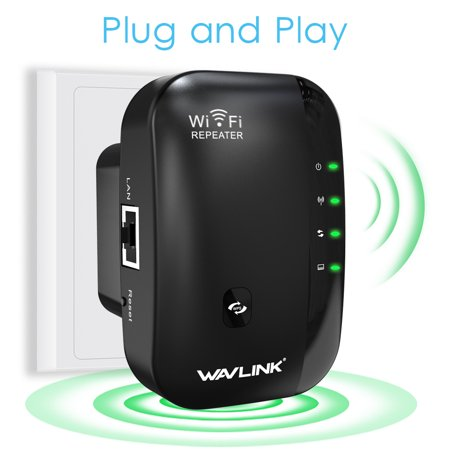 Wavlink N300 Wireless Wi-Fi Extender wifi Repeater Router/Acess point  300Mbps wifi signal amplifier wireless Signal Booster 802 11n/b/g WPS-Black