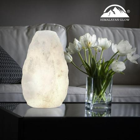 Himalayan Glow Natural White Naked Himalayan Salt Lamp (3-5lbs) by WBM
