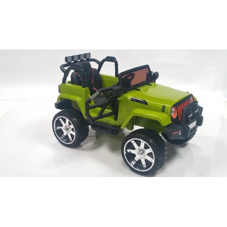 New Eva Jeep Wrangler Style 12v Kids Ride On Toy Car With Remote