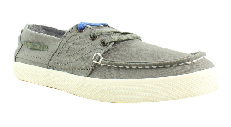 New Tretorn Womens 47295509 Grey Boat Shoes Size 5.5 by Tretorn