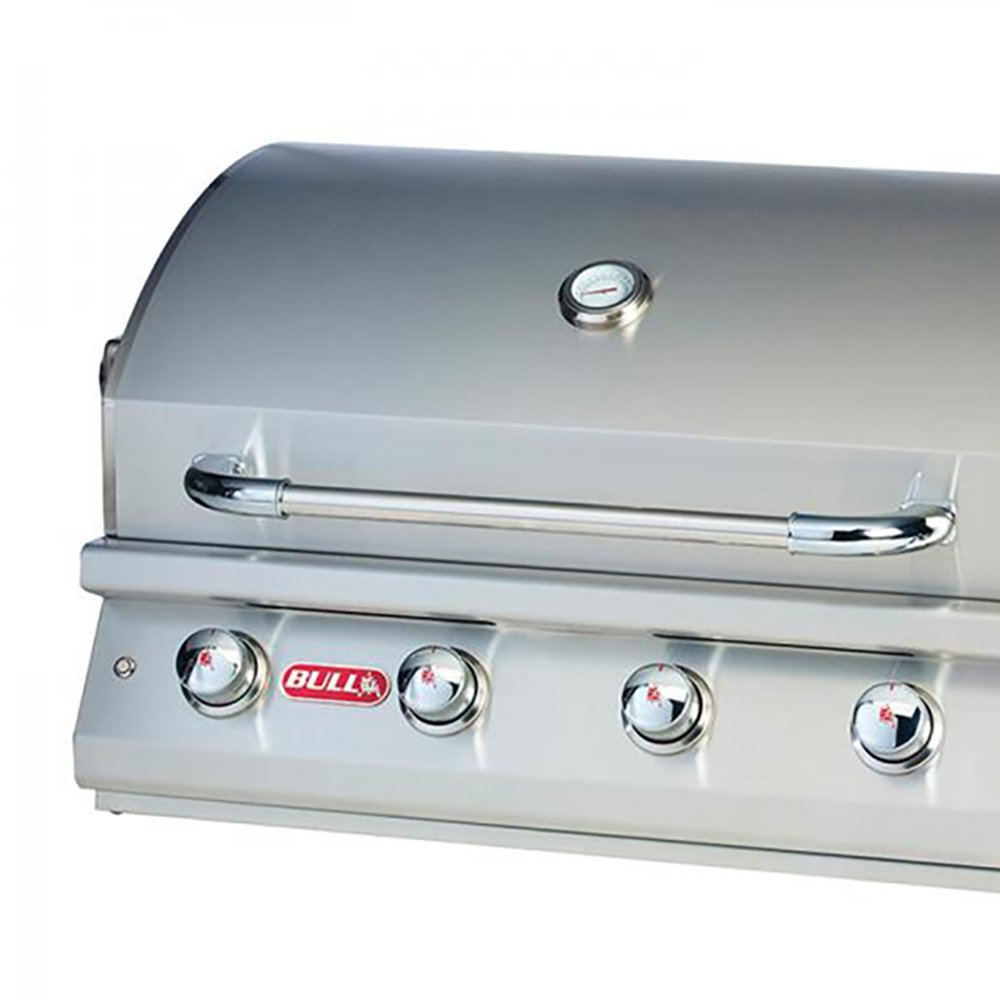 Bull Outdoor 7 Burner Stainless Steel Premium Propane Barbecue Grill ...