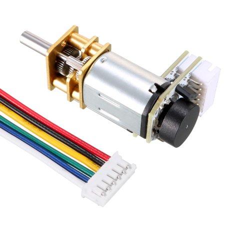 6V 150RPM DC Gear Motor w Encoder Speed Velocity Measurement for Model Plane - image 5 of 6