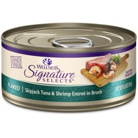 (12 Pack) Wellness CORE Signature Selects Natural Grain Free Wet Canned Cat Food, 5.3 oz. Cans