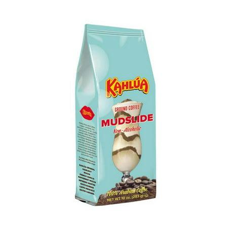 Kahlua Mudslide Gourmet Ground Coffee, 10 oz bag