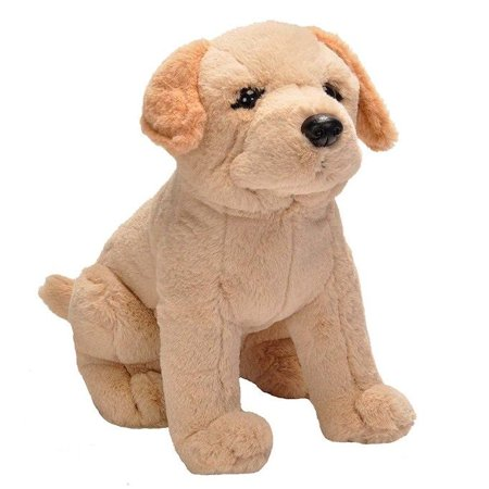 - Yellow Lab Cuddlekins Sitting Dog 12 inch Stuffed Animal by Wild Republic 20353