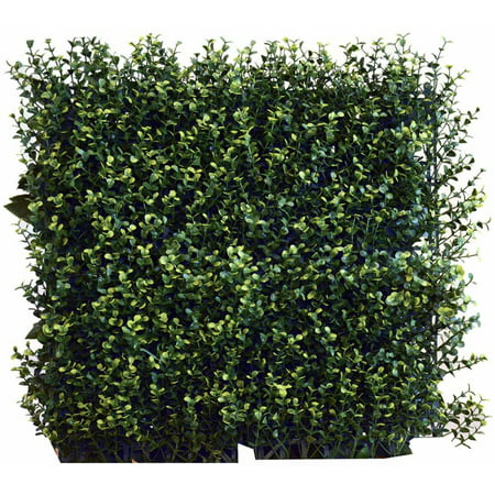 Greensmart Decor Artificial Greenery Ficus Spring Wall Panels - Set of 4