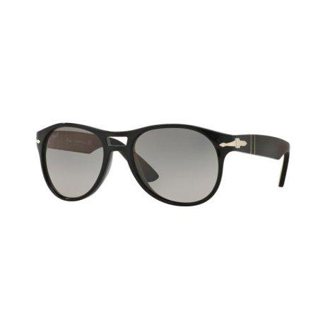 6d77cddee2 PERSOL - PERSOL Sunglasses PO 3155S 104171 Black 54MM - Walmart.com