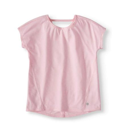 Pleat Back Active Tee (Little Girls & Big Girls) (Ariat Girls Shirt)