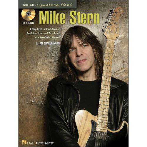 Hal Leonard Mike Stern - Guitar Signature Licks Book/CD