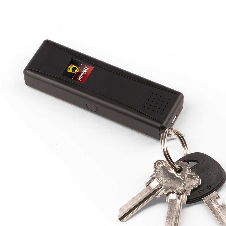 Guard Dog LED Stun Gun Keychain/120dB Alarm - Recharge Pink