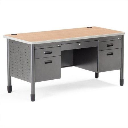 Mesa Series Double Pedestal Teacher's Desk 27.75